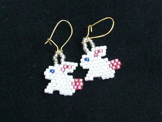 Easter Bunnies Earrings