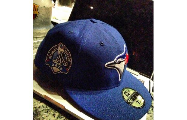 Drake Shows Off Custom Blue Jays Hats for This Year's OVO Fest