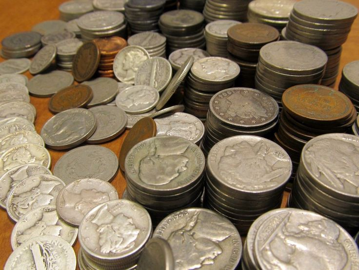 #coins ESTATE AUCTION-SILVER BULLION-OLD MONEY-GOLD-US COIN COLLECTION please retweet