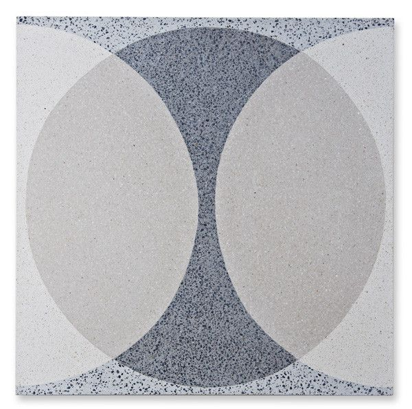 walls and floors by Lindsey Lang http://www.wallsandfloors.eu Double Ellipse Pattern