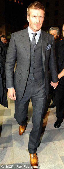 Not gonna lie...definitely one of my best dressed celebrity. Becks got style for days!
