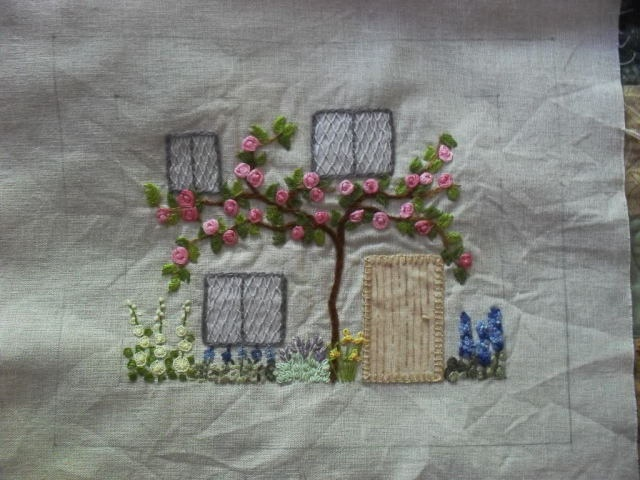 1000 Images About Embroidery Houses On Pinterest Sweet