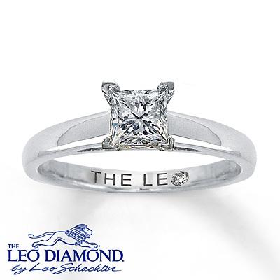 The Leo Diamond solitaire ring...