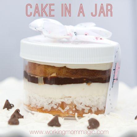 Misha's Cupcakes: Cake in a Jar! (
