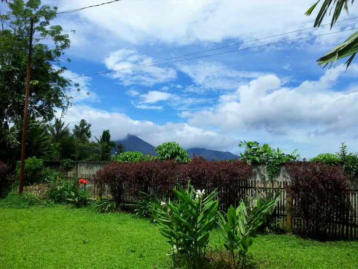 View from the terrace at Langitan's Residence