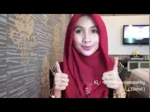 Tutorial Jilbab Paris Segitiga Simple 3 Styles By Ellen - YouTube