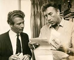 Previous Pinner said: Frankie Howerd was a staple of British comedy radio, television, and film for over 40yrs. Howerd lived for over 30yrs in a not-always-monogamous relationship with his manager Dennis Heymer. A dapper figure, Heymer was working as a wine waiter at the Dorchester on Park Lane when he met Howerd, who was there with Sir John and Lady Mills; it was 1958, homosexuality was still illegal, and Howerd was beginning to despair about his career and his physical attractiveness.