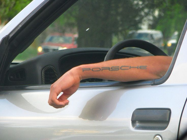 Porsche Tattoo Look At Me Porsche Fun Pinterest