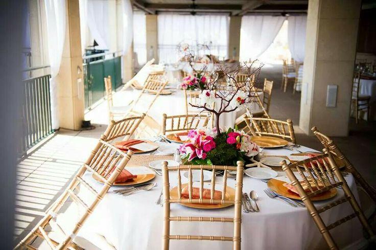 Sarasota Ritz Carlton Beach Club Wedding Kaitlin and Sean Harrison  Photography idea #bride #groom   #wedding #ritzcarlton #rcmemories #sarasota #chiphotography #allurecinema #reception #decor #gold #pink #orange #coral #SmullenHarrisonwedding