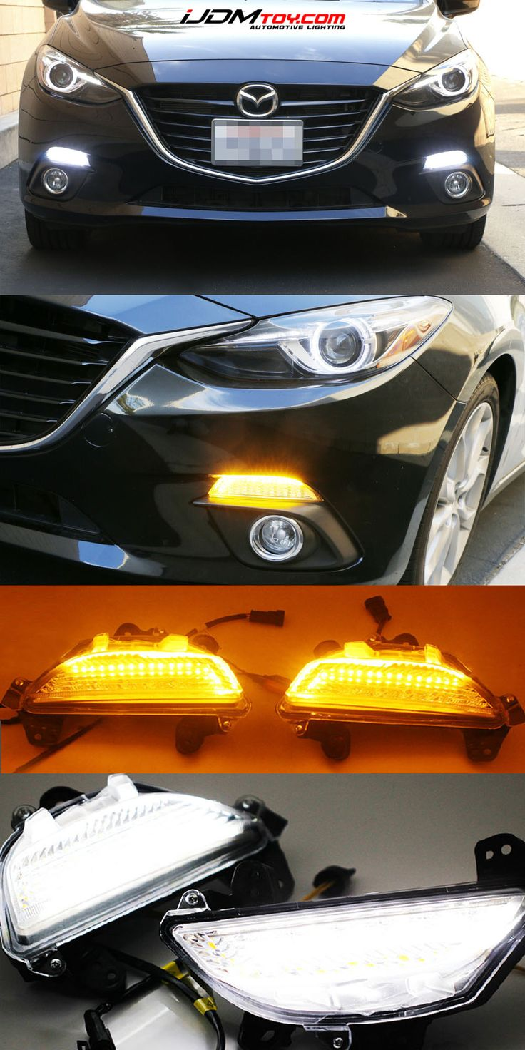 Switchback LED daytime running lights for the new Mazda 3. It's a 2-in-1. What's not to love?  http://store.ijdmtoy.com/Mazda3-Switchback-LED-Daytime-Running-DRL-Lights-p/70-781.htm  #Mazda #Mazda3 #JDM #JDMCulture #Cars #CarParts #iJDMTOY #Mazdaspeed #Axela #MazdaAxela