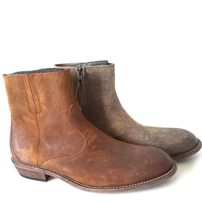 Woolrich Bulldogger Leather Western Ankle Boots for MEN Size 9 | eBay
