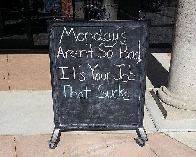 On route you spot this. People sure are funny. | The 33 Most Monday Things That Have Ever Happened