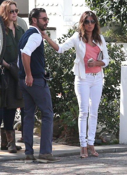 Eva Longoria Photos: Eva Longoria & Jose Antonio Baston Out For Brunch In Santa Monica