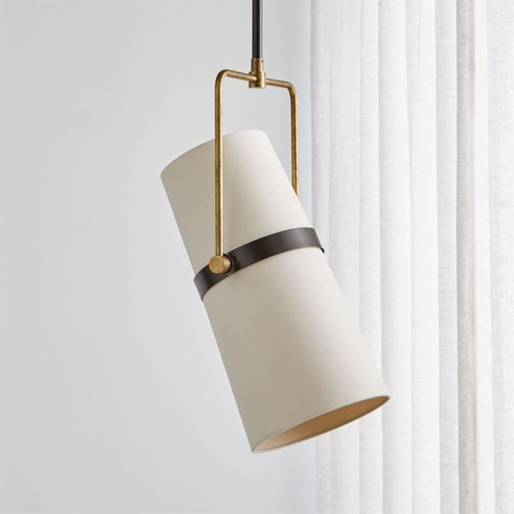 Riston Adjustable Pendant Light + Reviews   Crate and ... on Riston Floor Lamp  id=24892