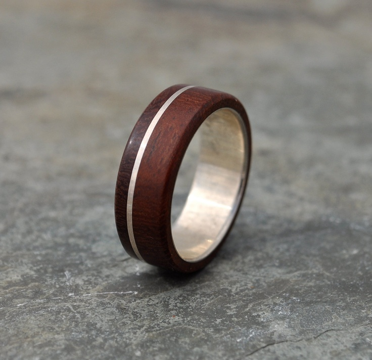 Asi Guapinol Wood Ring  by naturalezanica 152