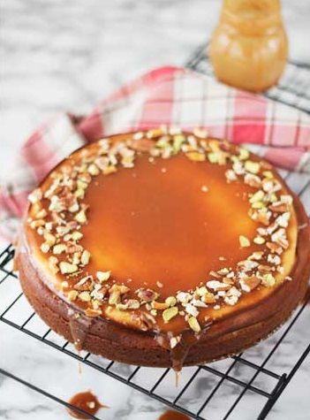 ... blondie cheesecake ...