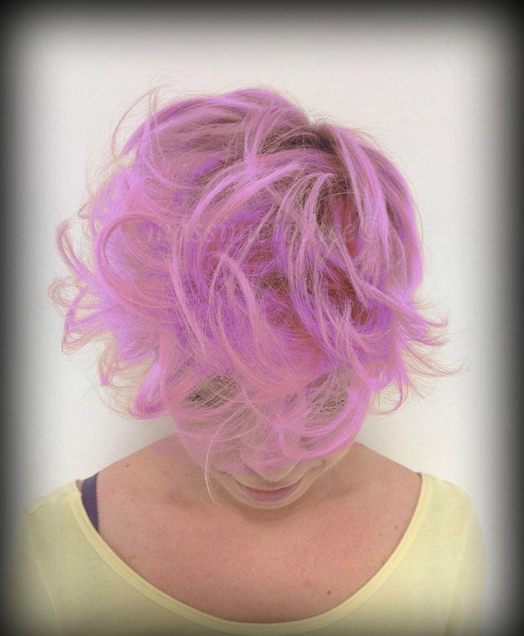 My work...! #massimoiodice #caserta #viamarchesiello #haircolour #pink #violet #cut #haircut #purecolour #davines #roma #milano #capri #london #bellezzacapelli