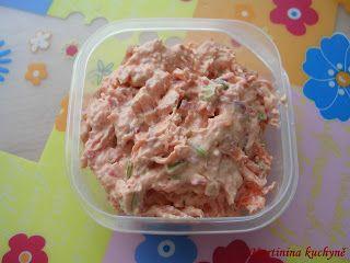 Martinina kuchyně: Pomazánka s mrkví a červenou řepou