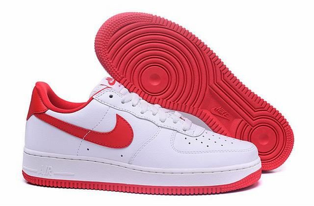 nike air force 1 low rouge et blanc