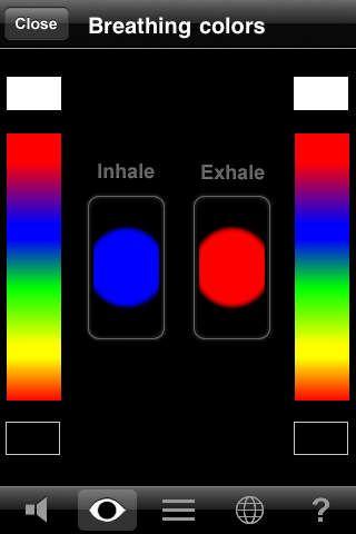 BellyBio Interactive Breathing app