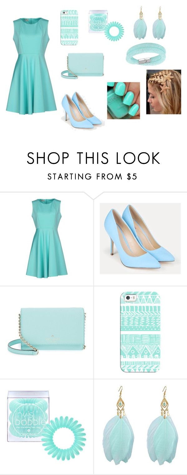 """ty"" by aiste-mini on Polyvore featuring Pinko, JustFab, Kate Spade, Casetify, Invisibobble, Swarovski, men's fashion and menswear"
