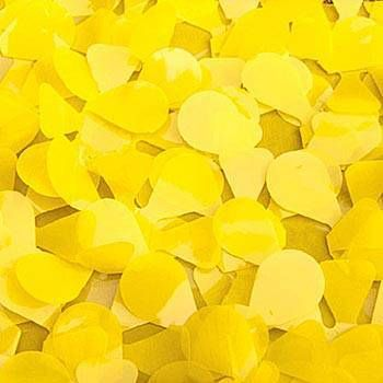 Our Yellow Vinyl Floral Sheeting will give your parade float, tabletops or background a sun-shiney look and feel. Our Floral Sheeting measures 3 feet wide and is sold by the yard.