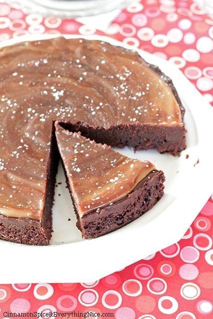 Flourless Chocolate Cake With Chocolate Ganache Frosting