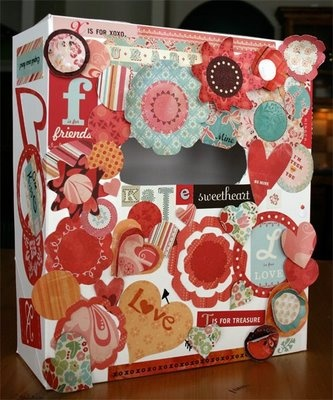 Valentine's Day valentine box