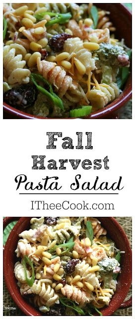I Thee Cook: Fall Harvest Pasta Salad