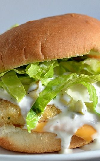 17 best images about fish burger on pinterest the for How to make tartar sauce for fish fillet