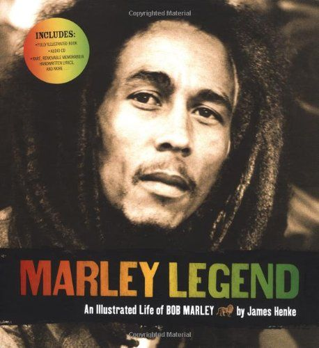 *Marley Legend - An illustrated life of Bob Marley* by James Henke. More fantastic pictures and videos of *Bob Marley* on: https://de.pinterest.com/ReggaeHeart/