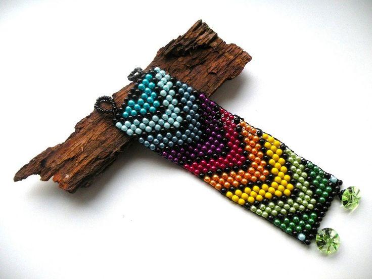 Kolorowe Jarmarki - bransoletka w Bajobongo na DaWanda.com