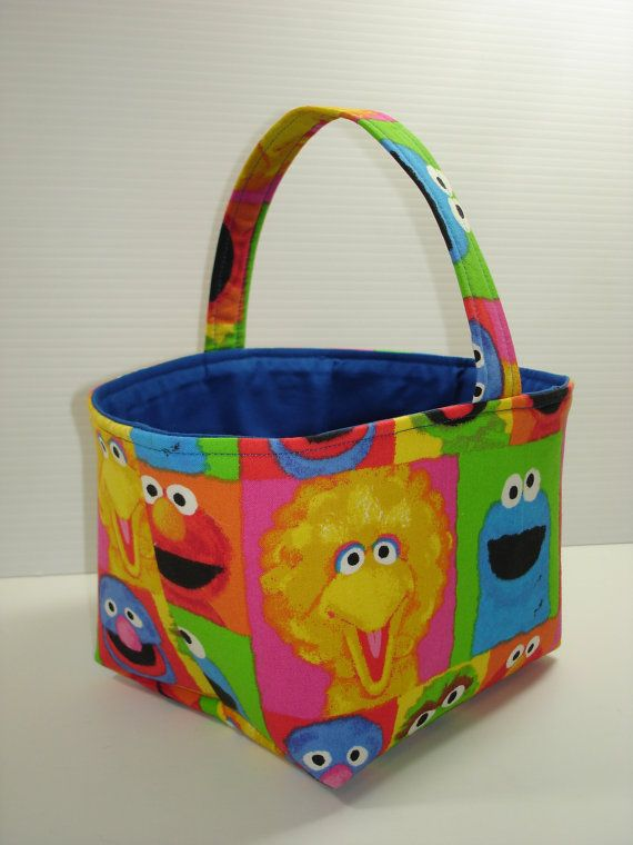 Sesame Street Easter Basket  Toddler by 2lefthands2lefthands