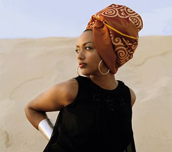 Head wrap...... ~African Prints, African women dresses, African fashion styles, African clothing, Nigerian style, Ghanaian fashion ~DK