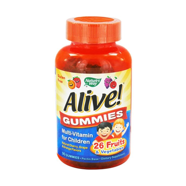 Nature S Way Alive Children S Multivitamin Gummies