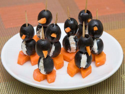 Olive Penguins: Food Recipes