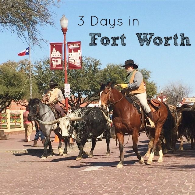 3 Days in Fort Worth, Texas | Itinerary for Families | Fort Worth