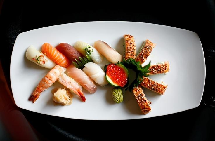 Sushi plåtad on location på Roppongi.
