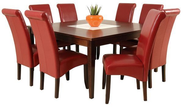 RED TEMPURA DINING SETTING PACKAGE