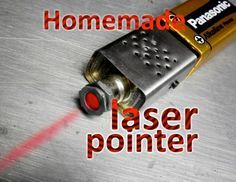 Picture of Homemade laser pointer