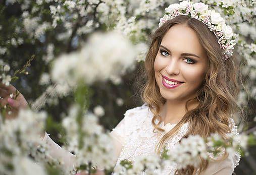 Sohemi_art / Svadobná kvetinová čelenka