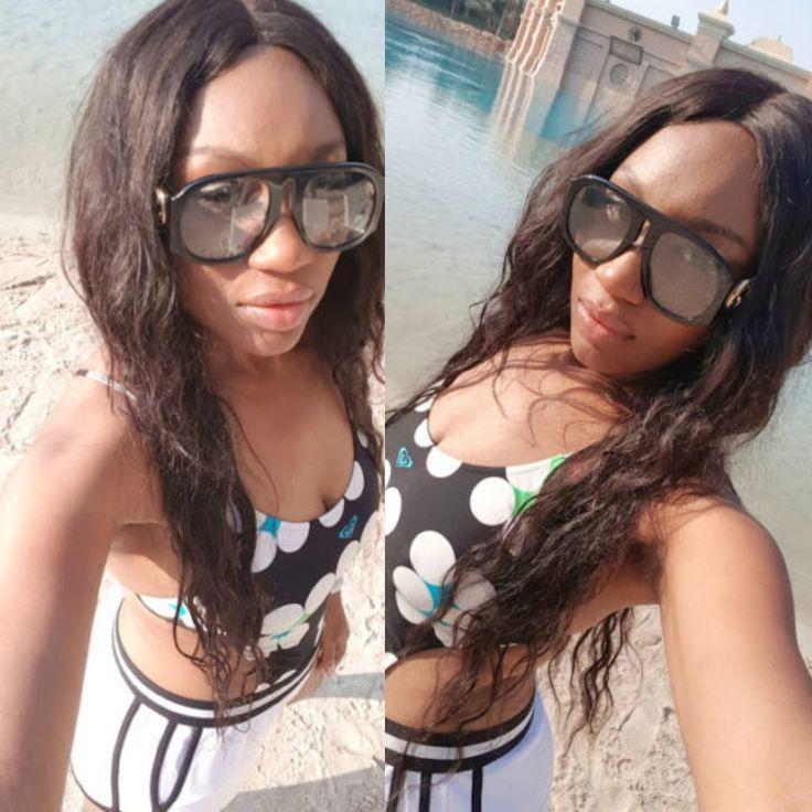 Ebube Nwagbo Shows of Hot Bikini Body (photos)