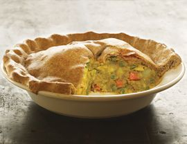 a casserole pie, but indian...confused? me too.Tasty Recipe, Pies Crusts, Casseroles Recipe, Indian Samosas Casseroles, Yummy, Indian Food, Pot Pies, Favorite Recipe, Samosas Pies