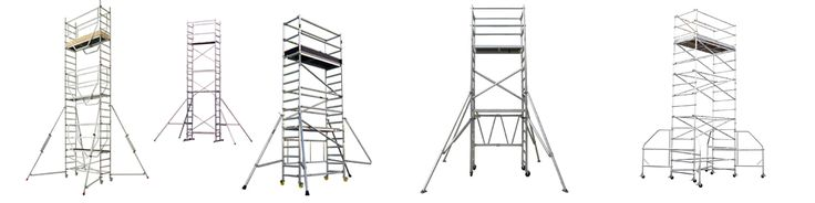 ARES Scaffolding Aluminum Scaffolding Mobile Access Towers, Aluminum low level folding units Podiums & Aluminum Scaffolding Ladders, Aluminum Scaffolding Stairway Towers, Modular Triangular Bridge are available for short and long term hire at very competitive prices