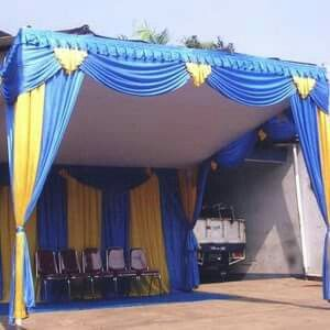 Set dekorasi tenda lengkap murah