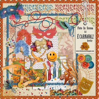 Solzinha Arte & Scraps Kit Freebie Carnaval