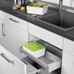 #kitchen #organization #Hailo #Mülleimer #Ordnung #Küche
