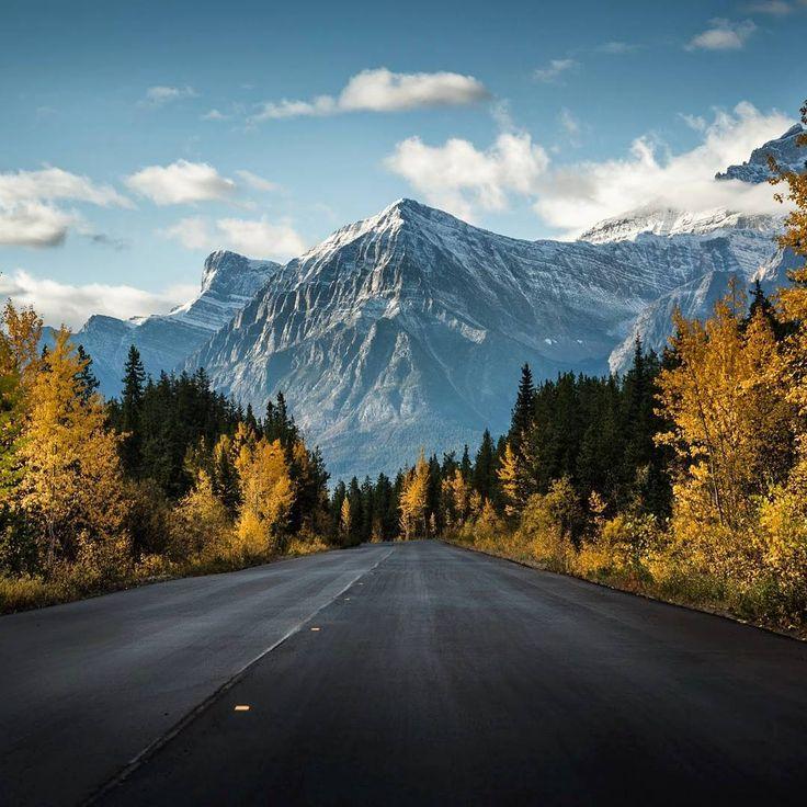 Jasper in fall (Alberta) by Jesse Martineau (@jessemartineau) on Instagram