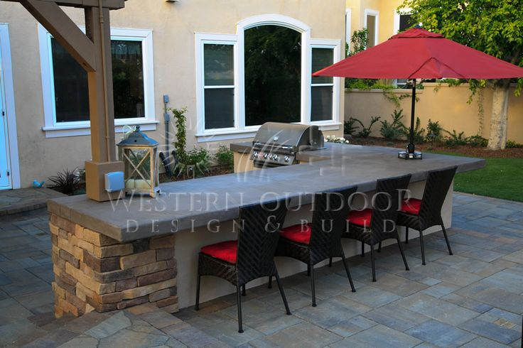 Best 25 Bbq Island Ideas On Pinterest Outdoor Kitchens Outdoor Grill Area And Backyard Kitchen