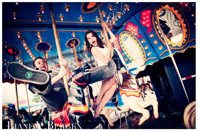 Our carnival engagement photos - www.lianebergen.com